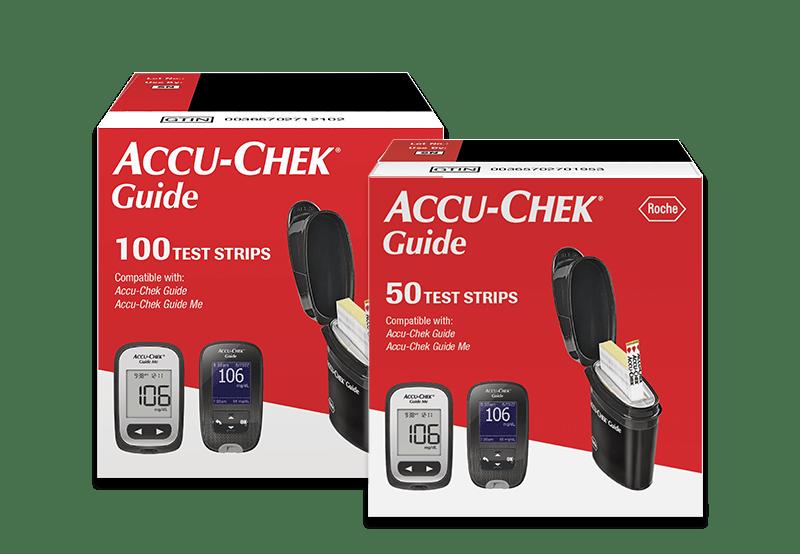 Accu-Chek Guide 50-ct. & 100-ct. Test Strips